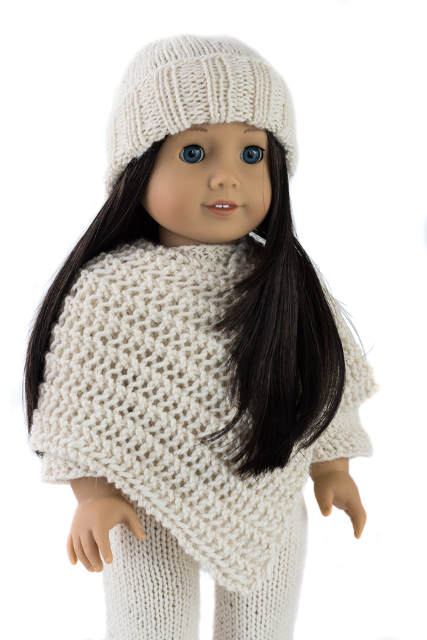 Cozy Outfit : Doll Hat, Sweater, Poncho and Pants Knitting ...