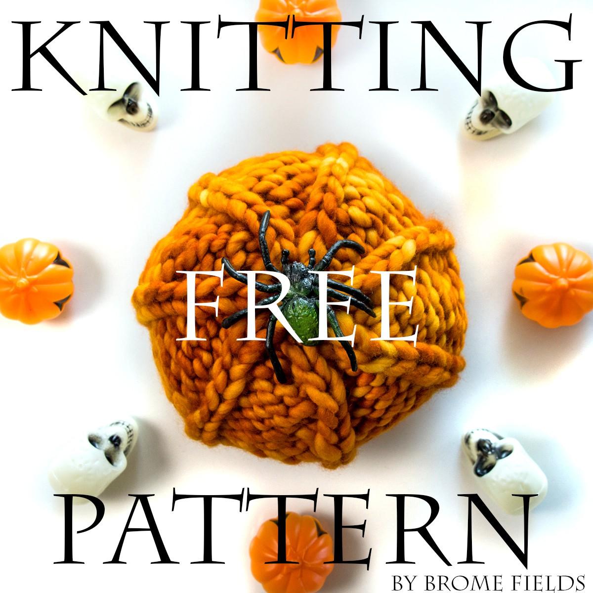 Pumpkin : FREE Knitting Pattern - Brome Fields