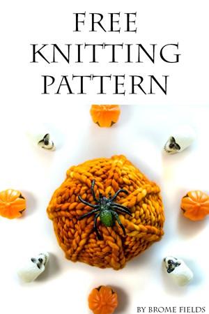 FREE Halloween Pumpkin Knitting Pattern