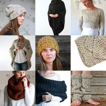 Top 10 Beginner Knitting Patterns by Brome Fields