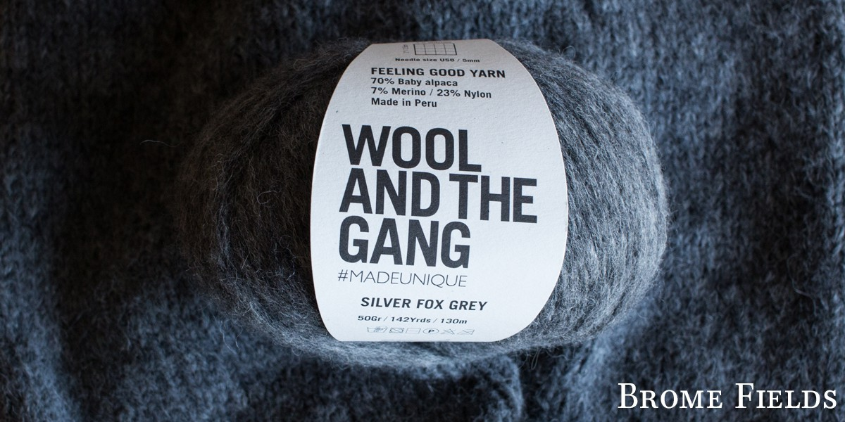 Feeling Good Yarn by Wool and the Gang Yarn Review by Brome Fields