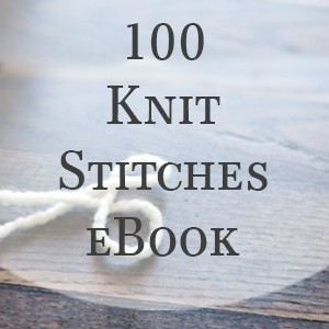 100 Days of Knit Stitches eBook