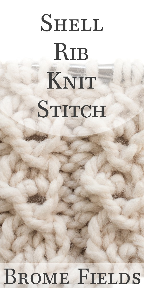 Video Tutorial: How to Knit the Shell Rib Knit Stitch