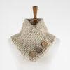 knit cowl on a dress form