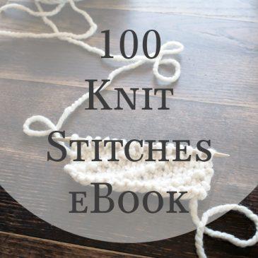 100 Knit Stitches eBook
