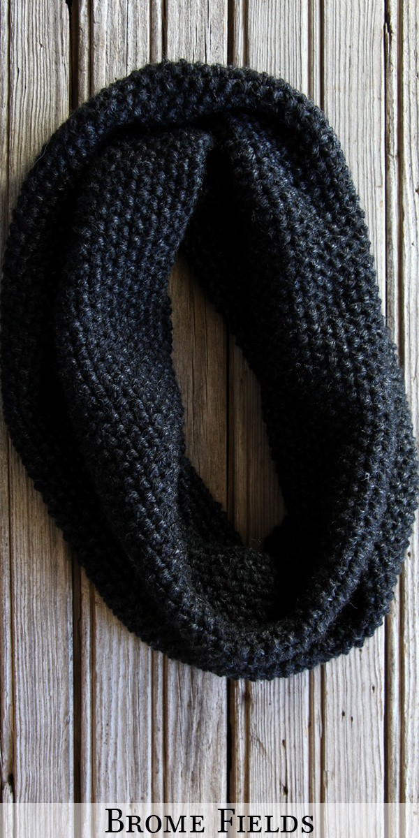 FREE Cowl Knitting Pattern : Brome Fields