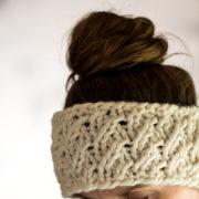 Headband Knitting Pattern : DIGNITY : Brome Fields