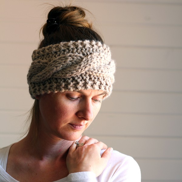 Friendship Headband FREE Knitting Pattern