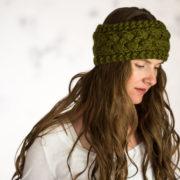 Headband Knitting Pattern : Persistence : Brome Fields