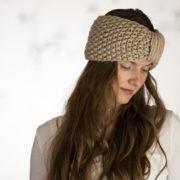Headband Knitting Pattern : Resilience : Brome Fields
