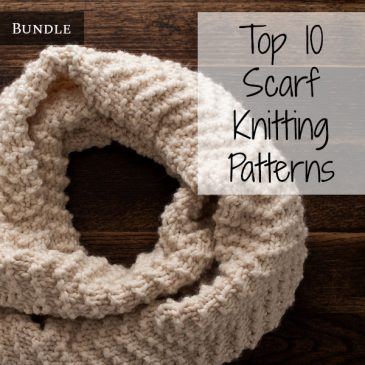 Top 10 Scarf Knitting Patterns Bundle Vol. 1