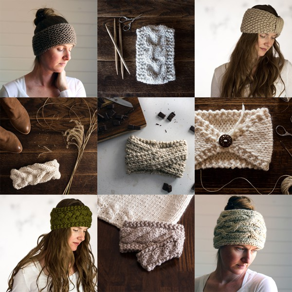 Top 10 Headband Knitting Patterns by Brome Fields