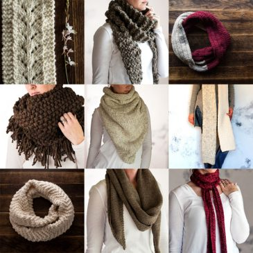Top 10 Scarf Knitting Patterns eBook