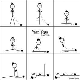 Yarn Yoga Poses