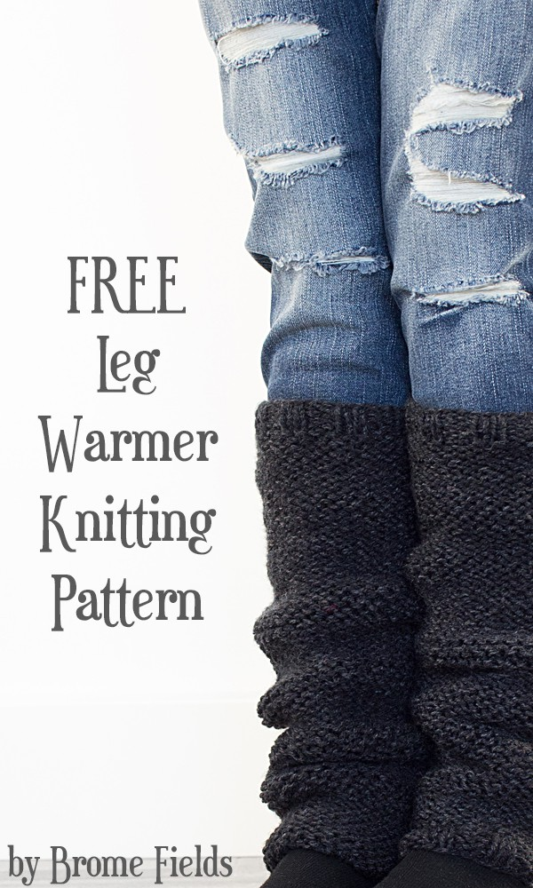 Free Rejuvenation Leg Warmer Knitting Pattern Brome Fields