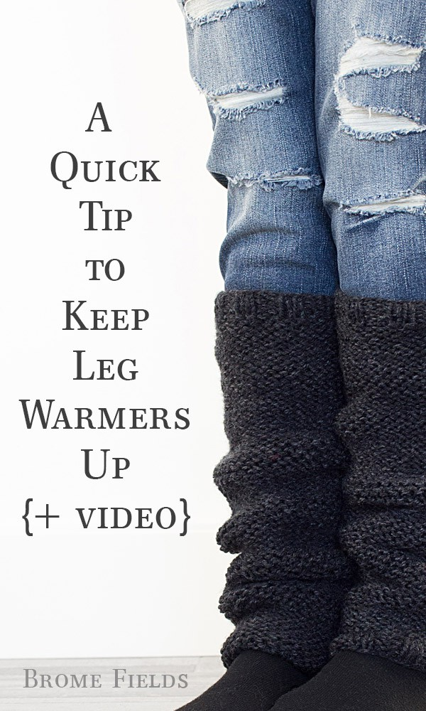 How To Switch Needle Size To Keep Leg Warmers Up Brome