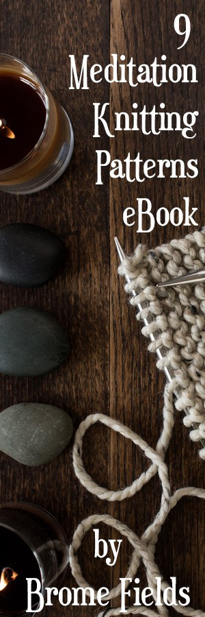 9 Meditation Knitting Patterns Bundle
