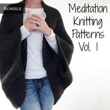Meditation Knitting Patterns Bundle Vol. 1