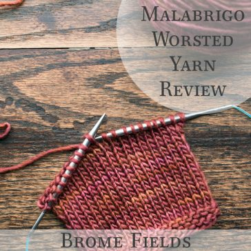 Video Yarn Review: See How This Malabrigo Worsted Yarn Knits Up. Perfect little chevrons & tons of colors to choose from!