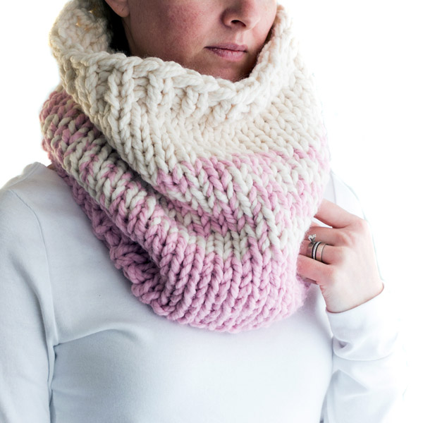 The Best Super Chunky Cowl Knitting Pattern Brome Fields