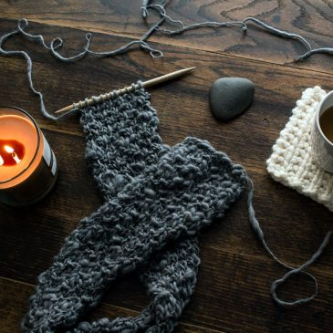 FREE Short Scarf Knitting Pattern