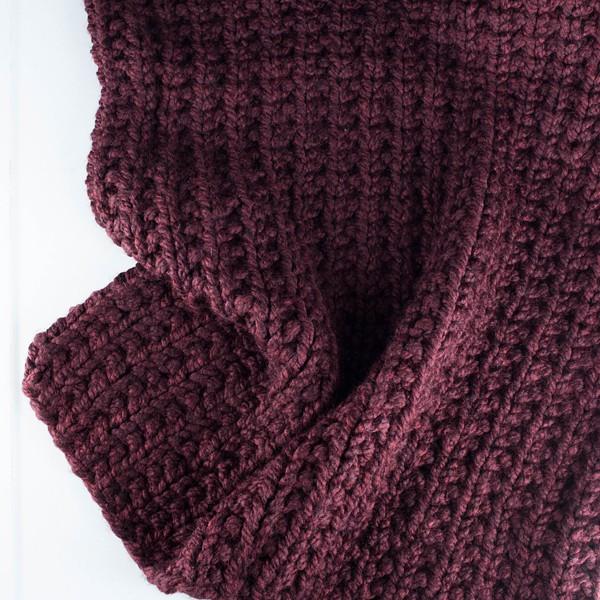 Wandering Blanket Knitting Pattern Brome Fields
