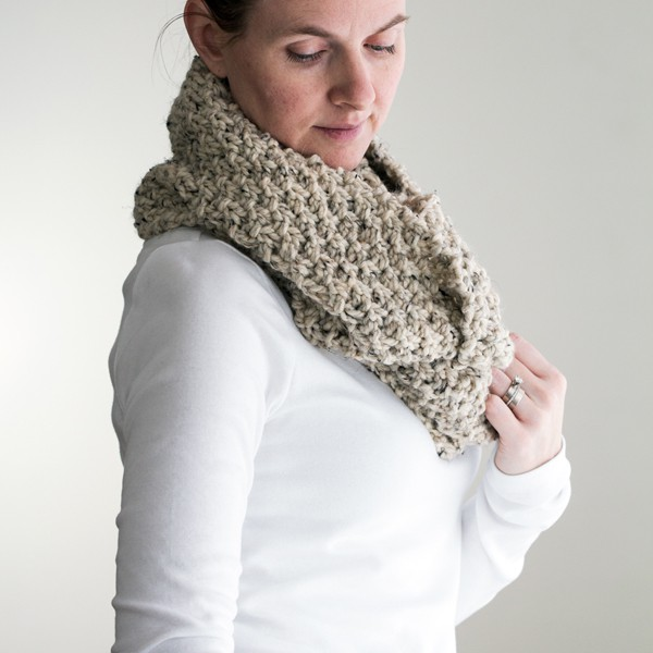 FREE} EVERLASTING Infinity Scarf Cowl Knitting Pattern - Brome Fields