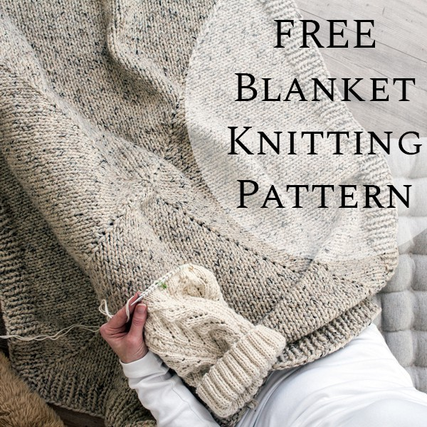 FREE Blanket Knitting Pattern : Forever by Brome Fields