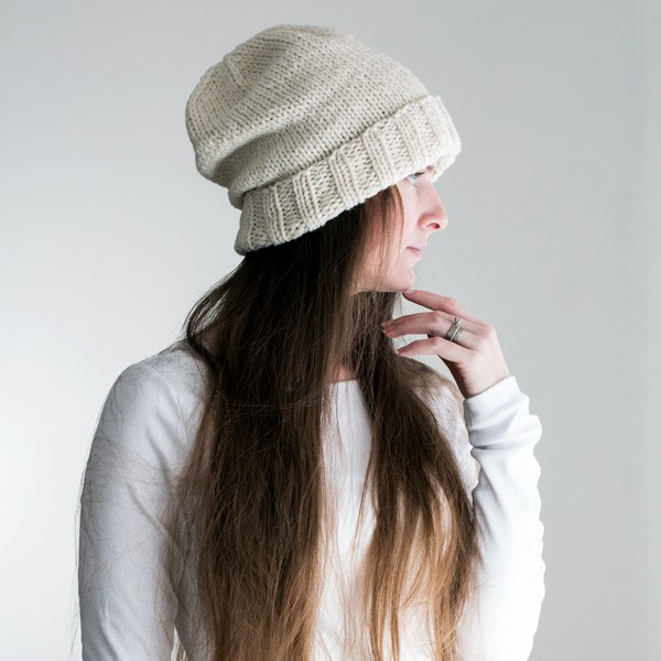 Eternal Bulky Slouchy Hat Knitting Pattern Brome Fields