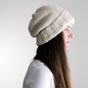 The perfect bulky slouchy hat knitting pattern ;)