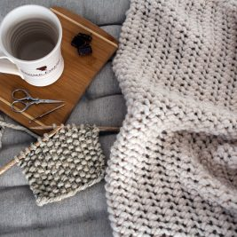 FREE Blanket Knitting Pattern - LoveMe by Brome Fields