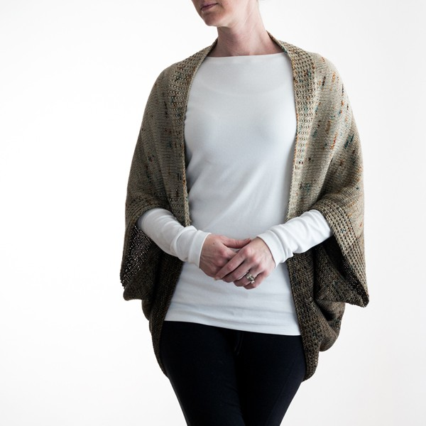 Faded Cocoon Knitting Pattern #bromefields