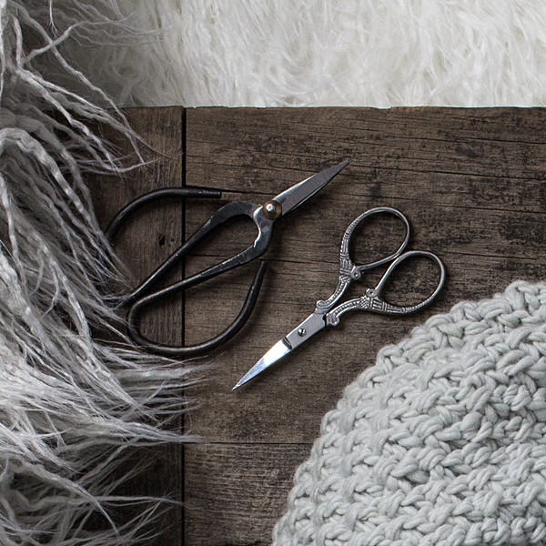 pair of craft scissors