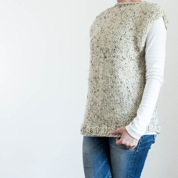 Free Thick Quick Fall Top Knitting Pattern Brome Fields