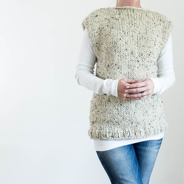 FREE THICK & QUICK Fall Top Knitting Pattern