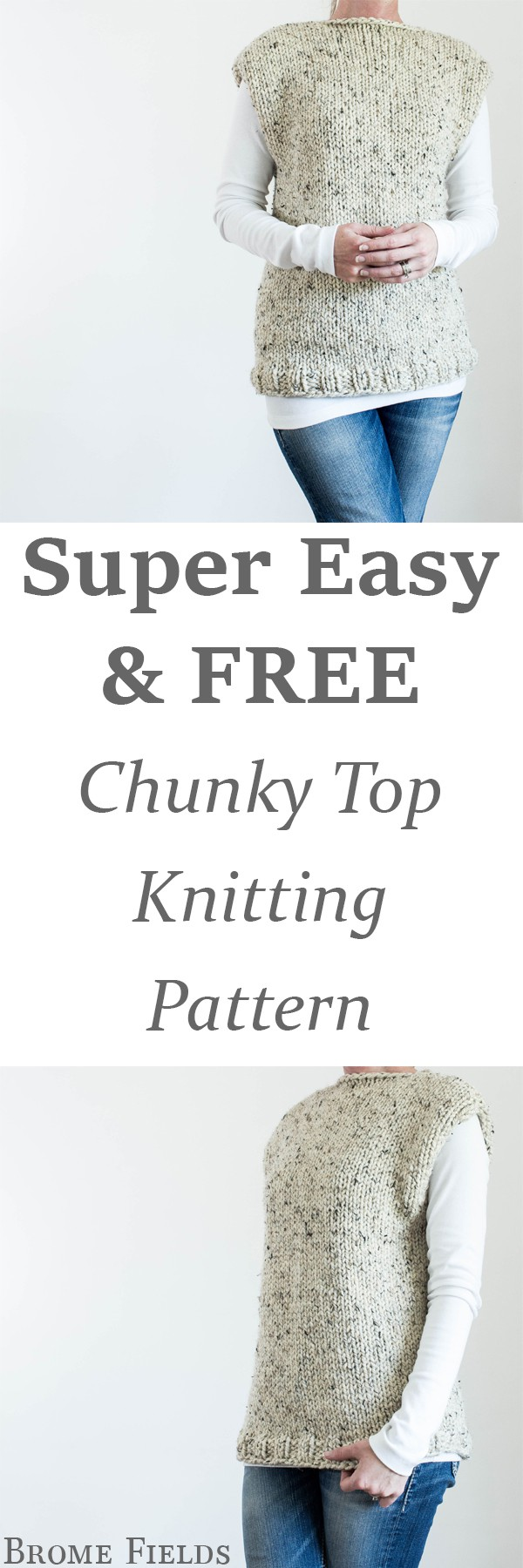 FREE Thick & Quick Top Knitting Pattern