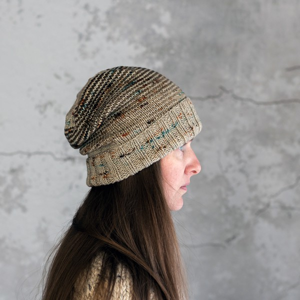 Faded Hat Knitting Pattern by Brome Fields