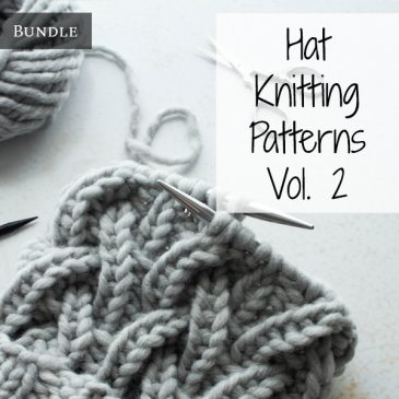 Hat Knitting Pattern Bundle Vol. 2