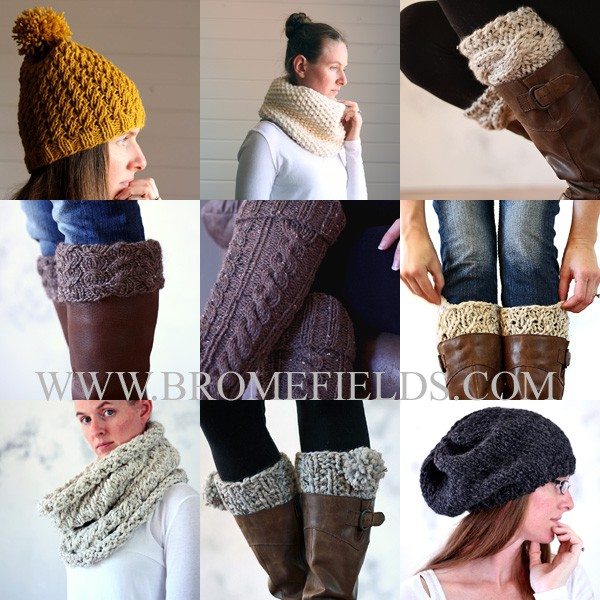 2015 Top 10 Knitting Patterns Collage