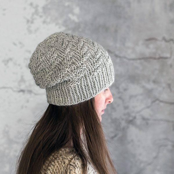Rib & Welt Hat Knitting Pattern by Brome Fields