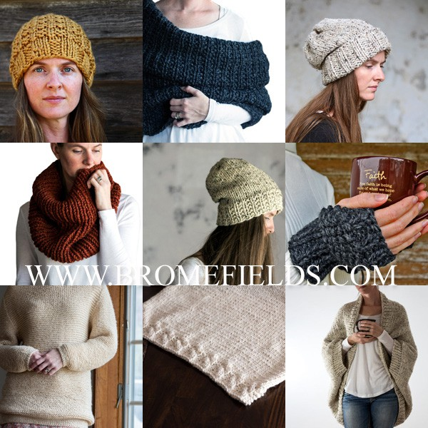 2017 Top 10 Knitting Patterns Collage