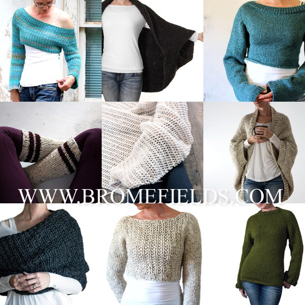 Top 10 Knitting Patterns by Brome Fields for 2018