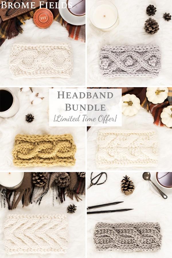 14 Quick Headband Knitting Patterns