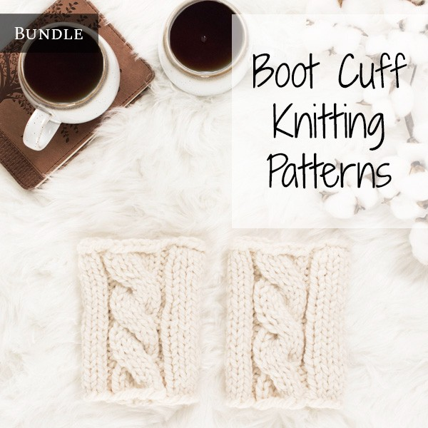 boot cuffs on a rug