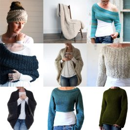 Top 10 Knitting Patterns of 2018 by Brome Fields