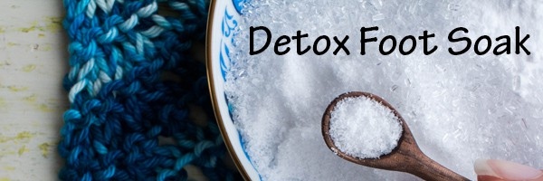 DIY Detox Foot Soak