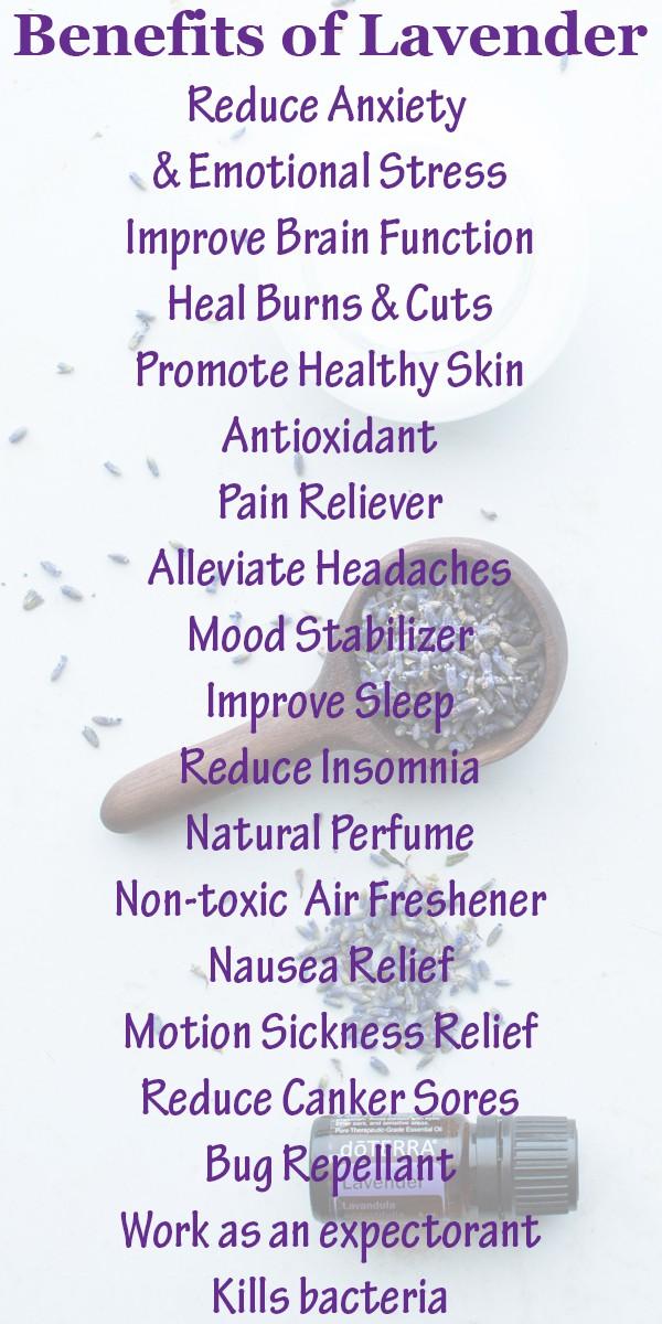 Benefits of Lavender