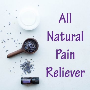 All Natural Pain Reliever