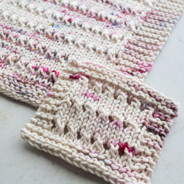 Eyelet Dishcloth Knitting Pattern by Brome Fields {+ exclusive how-to video}