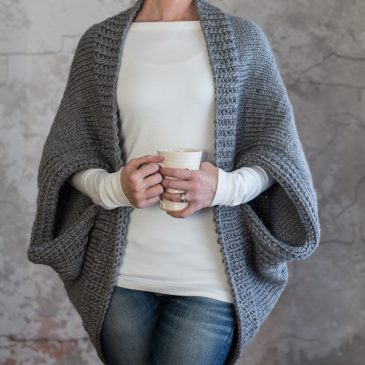 Scoop Shrug Knitting Patterns : Glamorous by Brome Fields
